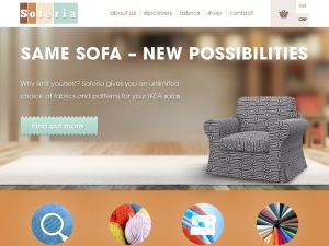 Soferia - the best sofa covers for people who love IKEA
